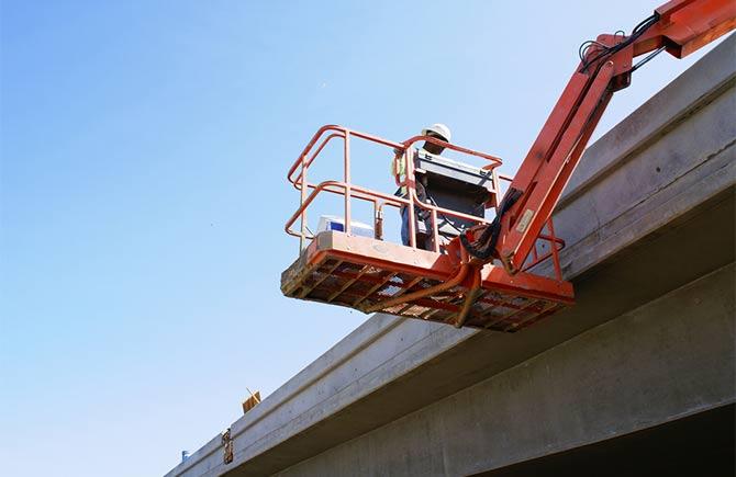 bridge inspection machine