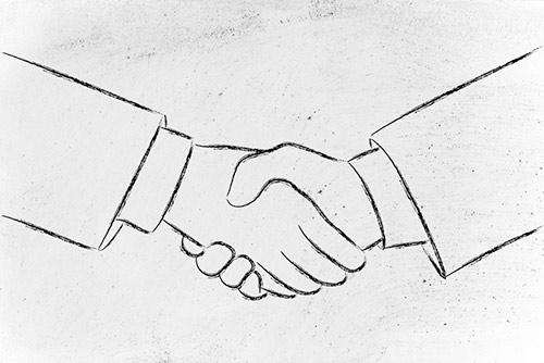 public private partnerships handshake