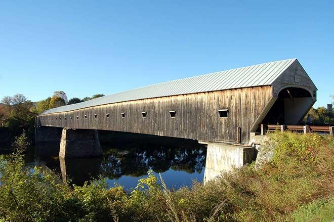 Cornish Windsor Covered Bridge