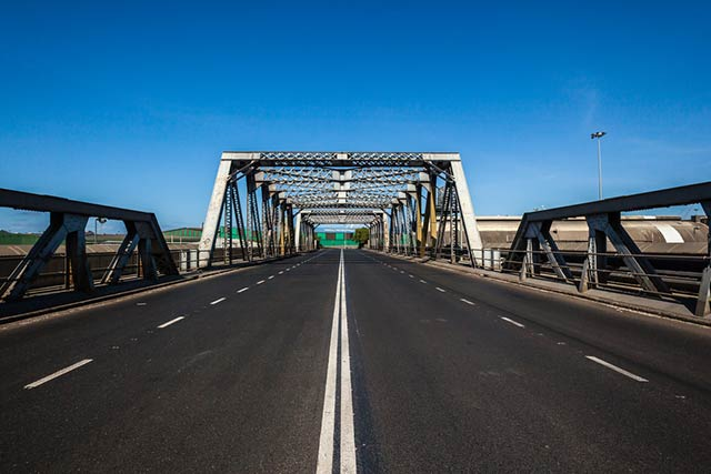 Old bridge infrastructure that could benefit from non-invasive drone inspections.