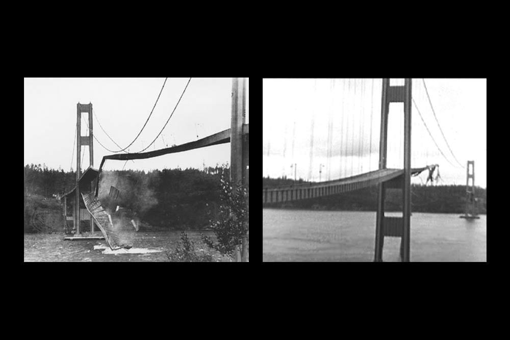 Aeroelastic Flutter & the Collapse of the Tacoma Narrows Bridge