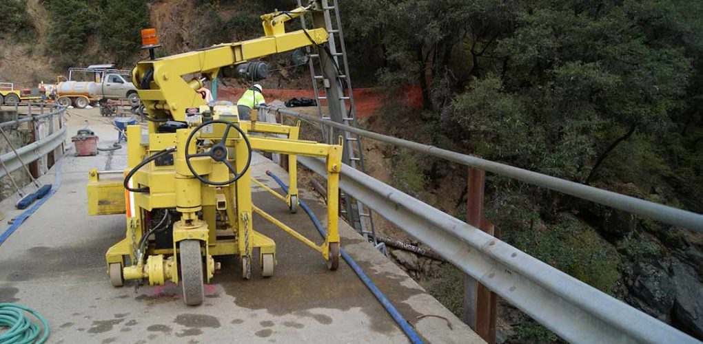Bridge Masters bridge access machine