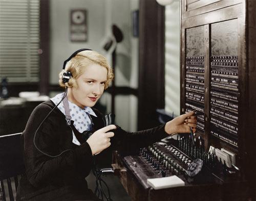switchboard operator