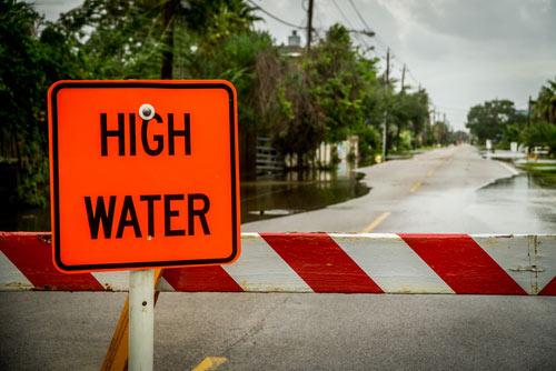High water, hurricane harvey