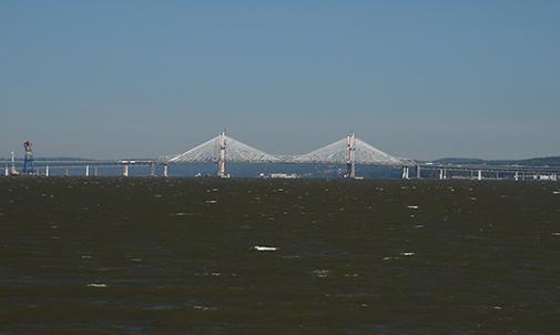 Governor Mario M. Cuomo Bridge as it nears completion.