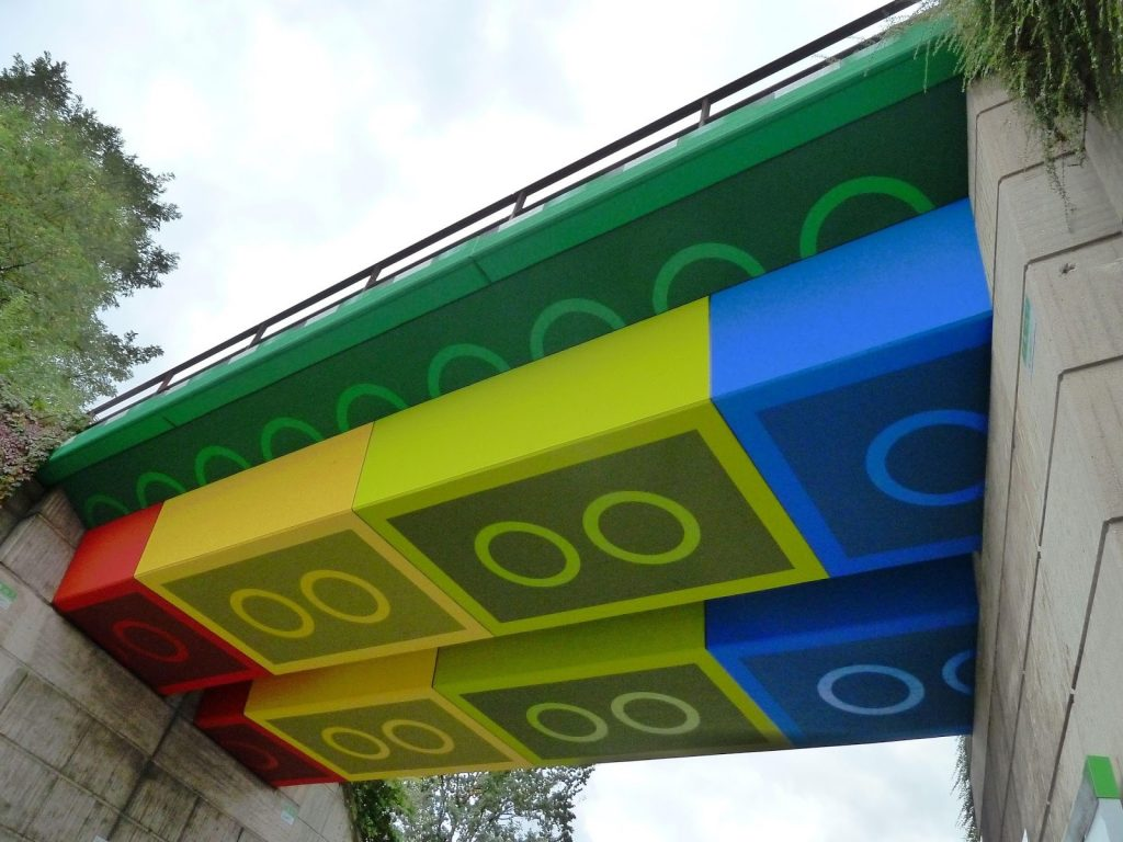 Lego Bridge Wuppertal Germany