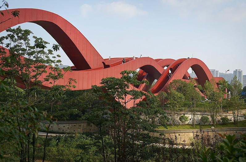 Lucky Knot Bridge Changsha China