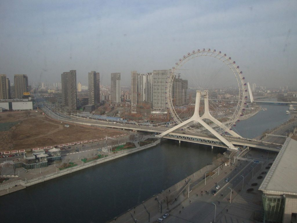 Tianjin Eye Yongle Bridge Tianjin China