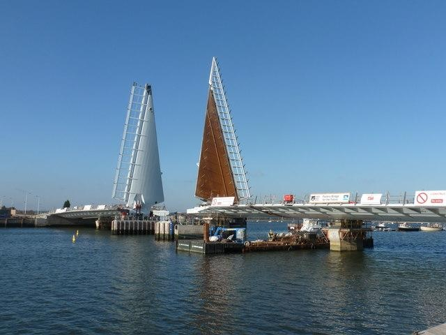 Twin Sails Bridge Dorset England