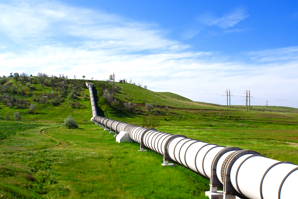 White Natural Gas Pipelines