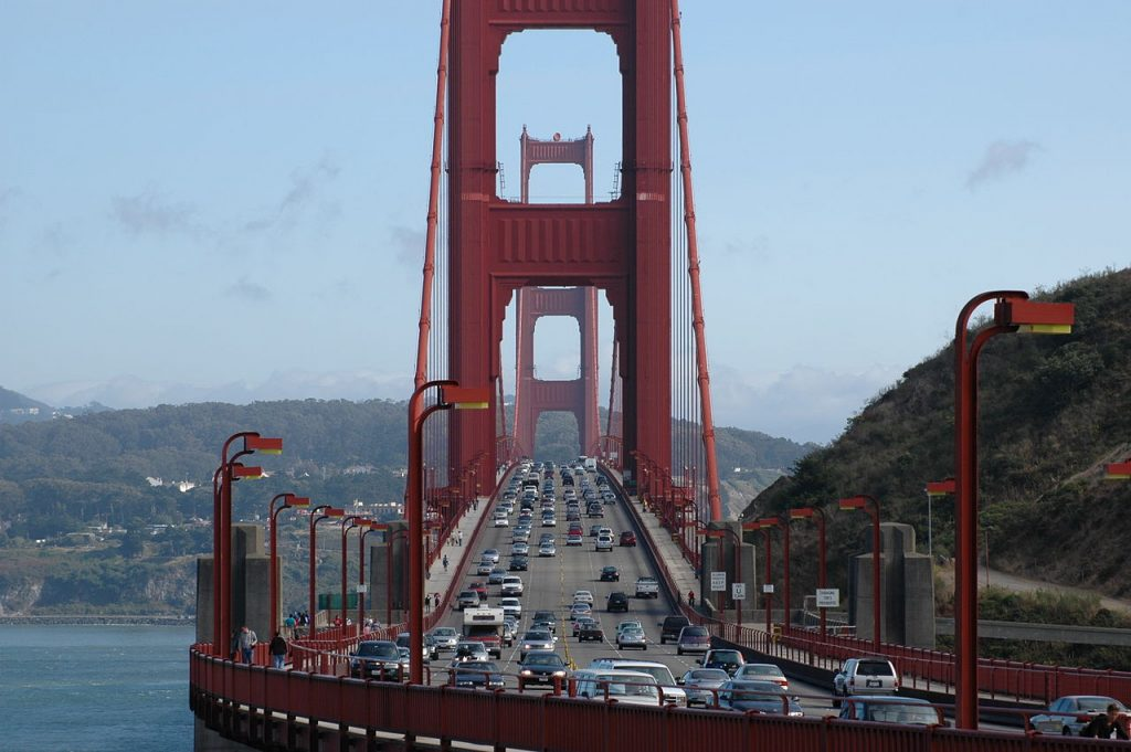 Congestion Pricing Bridge Industry Golden Gate Bridge San Francisco